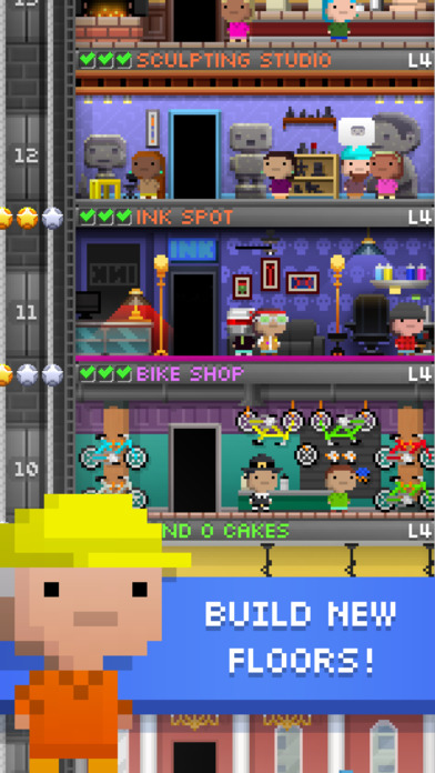 Download Tiny Tower - Free City Building for PC - Windows XP