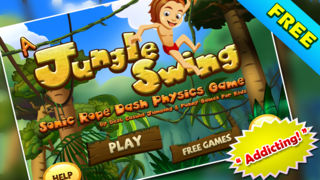 Download A Jungle Swing - Sonic Rope Dash Physics Game FREE App on your Windows XP/7/8/10 and MAC PC