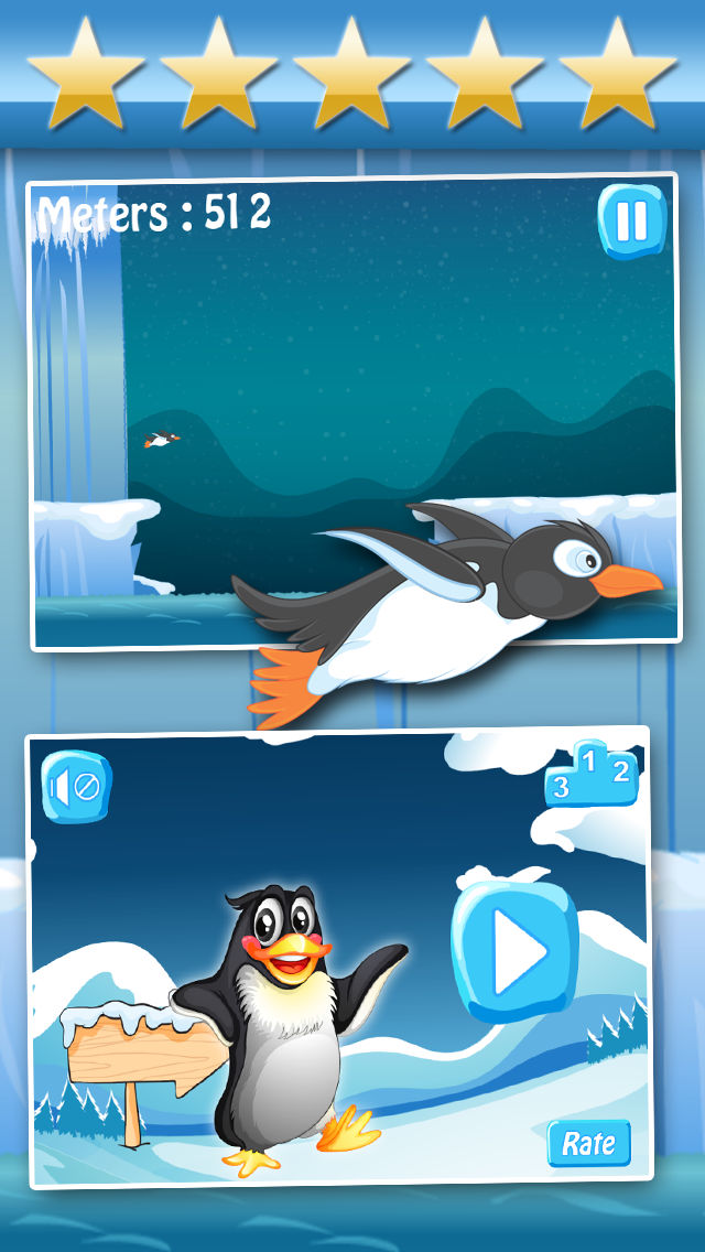 Download Arctic Penguin Racing : Super-Sonic Ice Voyage (Free) App on your Windows XP/7/8/10 and MAC PC