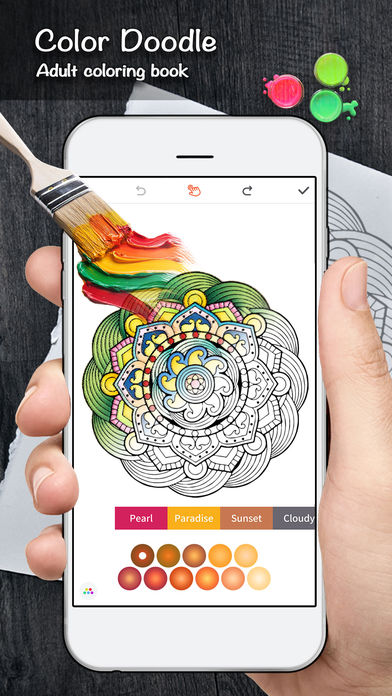 Download Color Doodle Coloring Book App on your Windows XP/7/8/10 and MAC PC