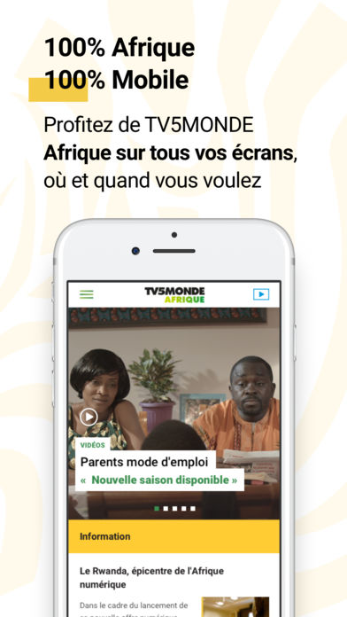 Download TV5MONDE Afrique App on your Windows XP/7/8/10 and MAC PC