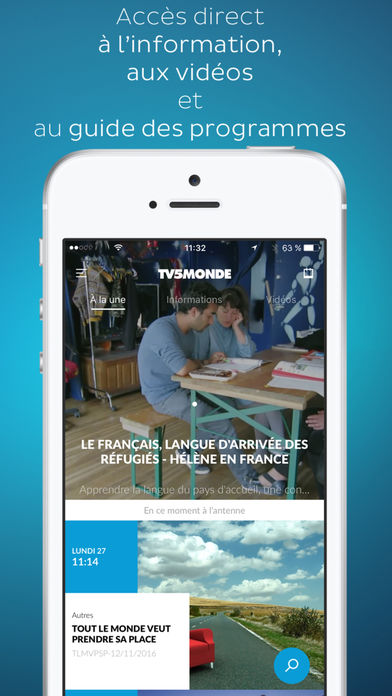 Download TV5MONDE App on your Windows XP/7/8/10 and MAC PC
