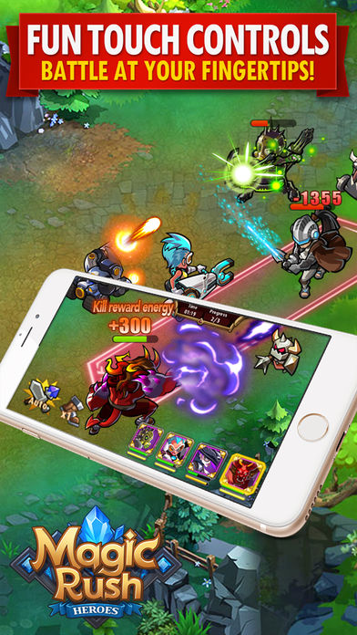 Download Magic Rush: Heroes App on your Windows XP/7/8/10 and MAC PC