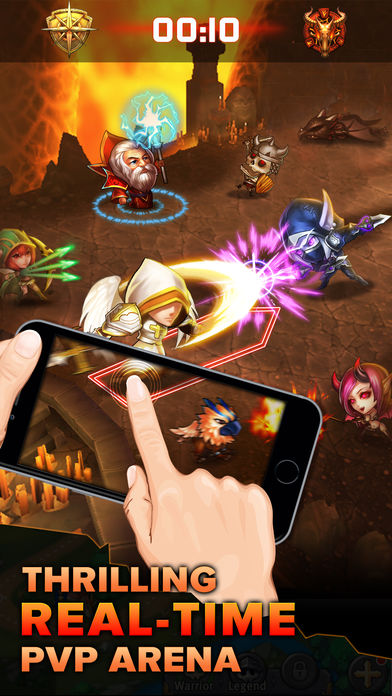 Download Heroes Tactics : PvP Strategy Game App on your Windows XP/7/8/10 and MAC PC