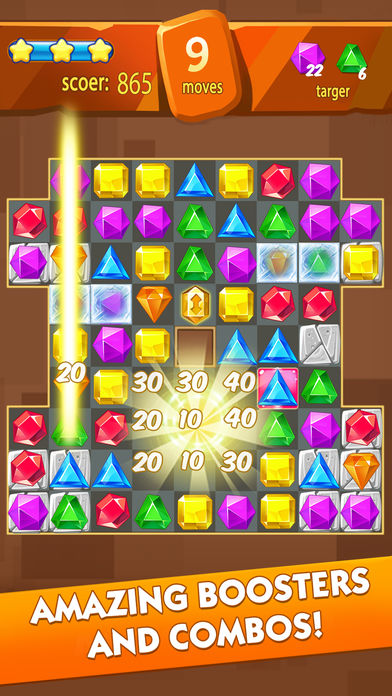 Download Jewel Fever -  Match 3 games App on your Windows XP/7/8/10 and MAC PC