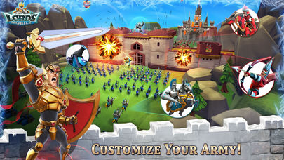 Download Lords Mobile App on your Windows XP/7/8/10 and MAC PC