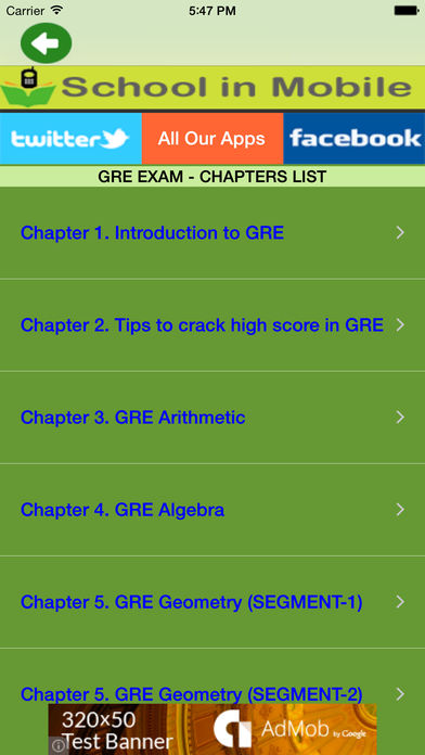 Download GRE Exam Prep App on your Windows XP/7/8/10 and MAC PC