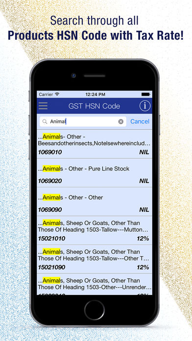 Download GST HSN Code App on your Windows XP/7/8/10 and MAC PC