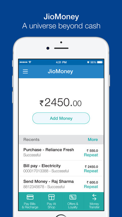 Download JioMoney Wallet App on your Windows XP/7/8/10 and MAC PC
