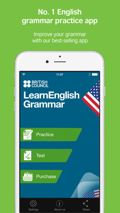 Download LearnEnglish Grammar (US Edition) App on your Windows XP/7/8/10 and MAC PC