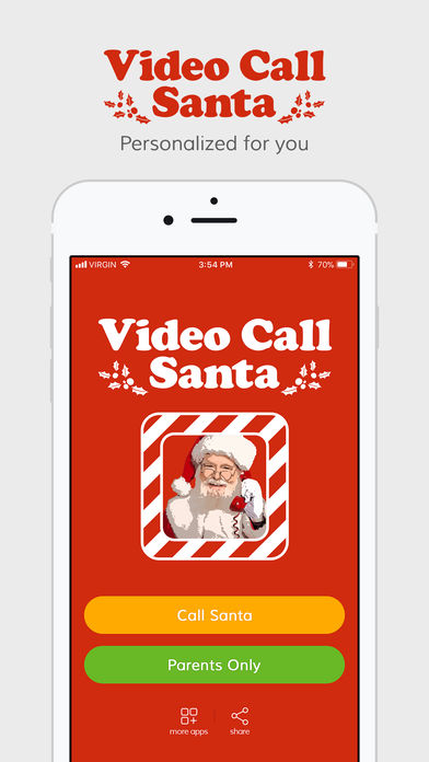 Download Video Call Santa App on your Windows XP/7/8/10 and MAC PC