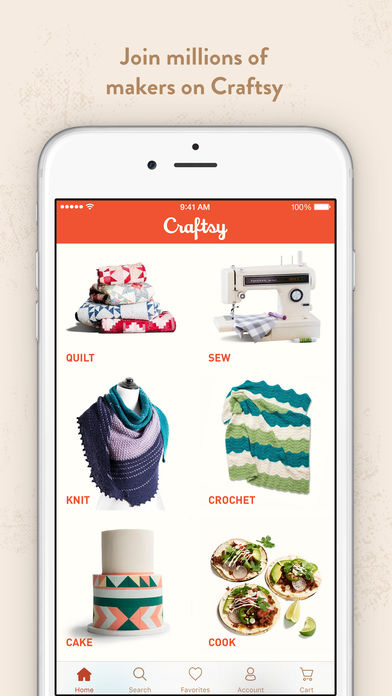 Download Craftsy App on your Windows XP/7/8/10 and MAC PC