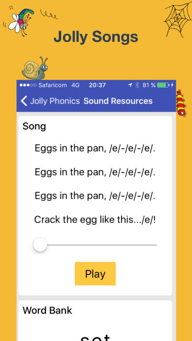 Download Jolly Phonics Lessons App on your Windows XP/7/8/10 and MAC PC