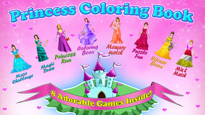 Download Little Princess Coloring Book! App on your Windows XP/7/8/10 and MAC PC