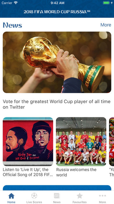 Download 2018 FIFA World Cup Russia™ App on your Windows XP/7/8/10 and MAC PC
