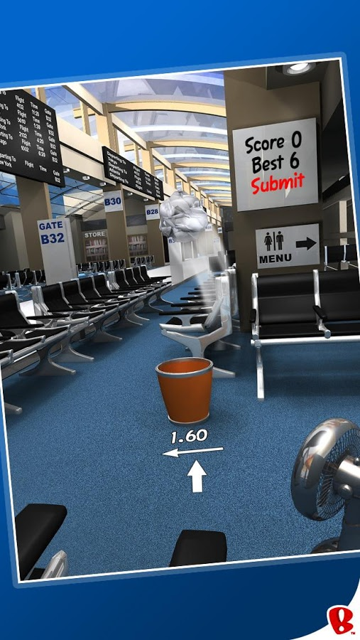 Download Paper Toss for PC/ Paper Toss on PC