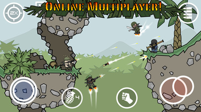 Download Doodle Army 2 : Mini Militia - Online Multiplayer App on your Windows XP/7/8/10 and MAC PC