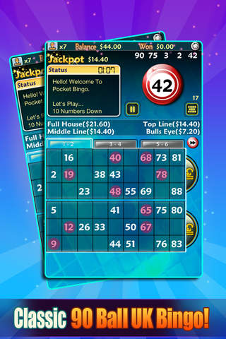 Download Pocket Bingo Free App on your Windows XP/7/8/10 and MAC PC