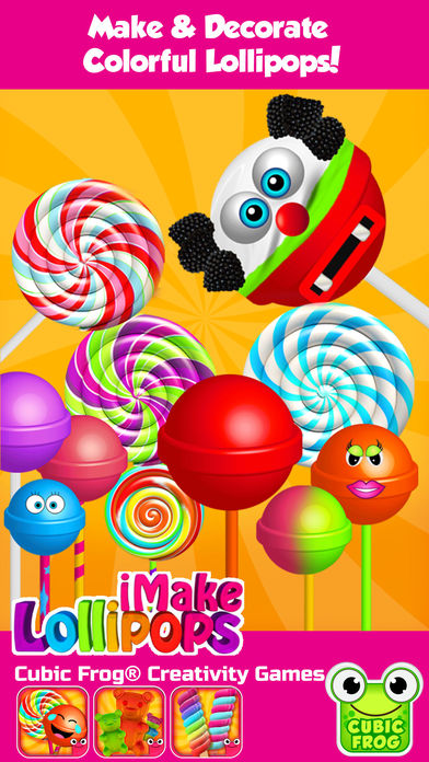 Download Candy Maker Food Games-iMake Lollipops for Kids App on your Windows XP/7/8/10 and MAC PC