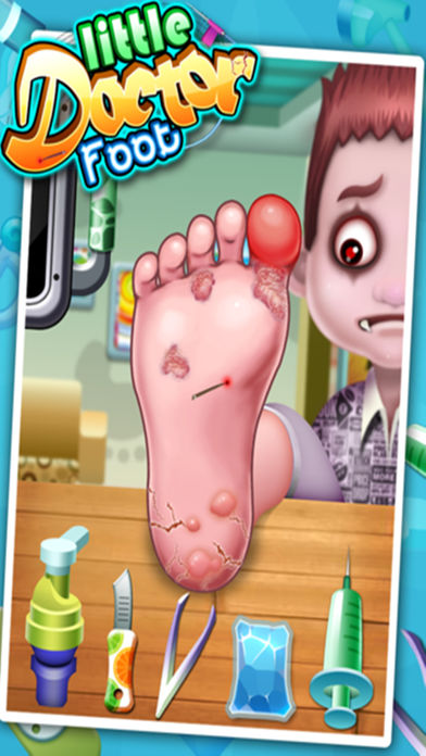 Download Little Foot Doctor - kids games App on your Windows XP/7/8/10 and MAC PC