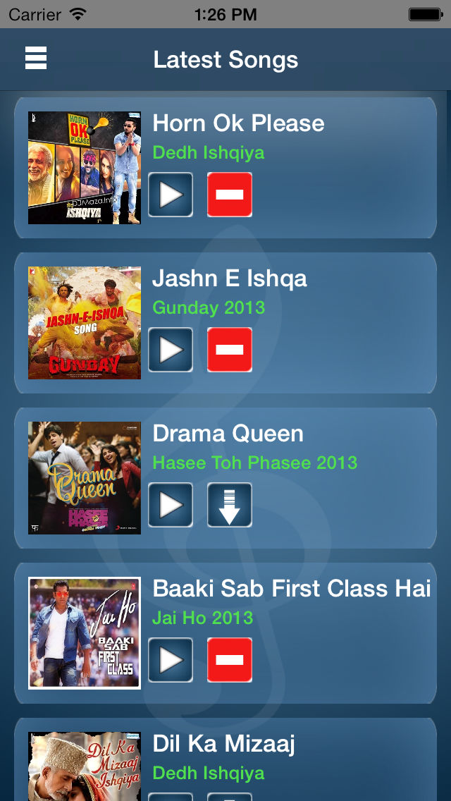 Download New Bollywood Songs App on your Windows XP/7/8/10 and MAC PC