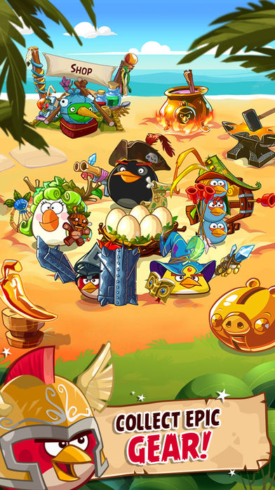 Download Angry Birds Epic RPG App on your Windows XP/7/8/10 and MAC PC