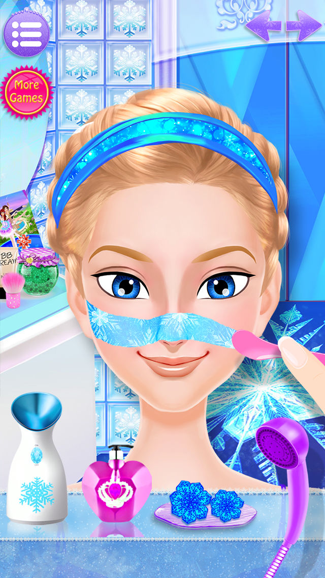 Download Frozen Ice Queen - Beauty SPA App on your Windows XP/7/8/10 and MAC PC