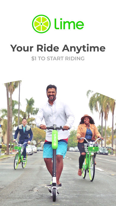Download Lime - Your Ride Anytime App on your Windows XP/7/8/10 and MAC PC